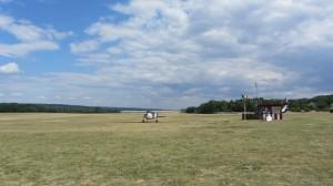 Repülőgép ellenorzés motorindítás előtt Gödöllön