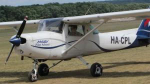 Repülőgép ellenőrzés Gödöllőn