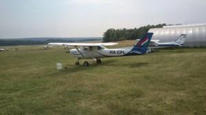 Malév pilóta iskola okatógépe