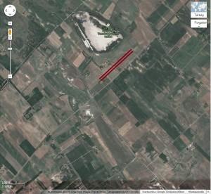 Pusztaszeri repülőtér kiemelve