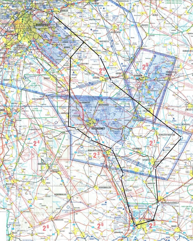 Szeged Gödöllő útvonal